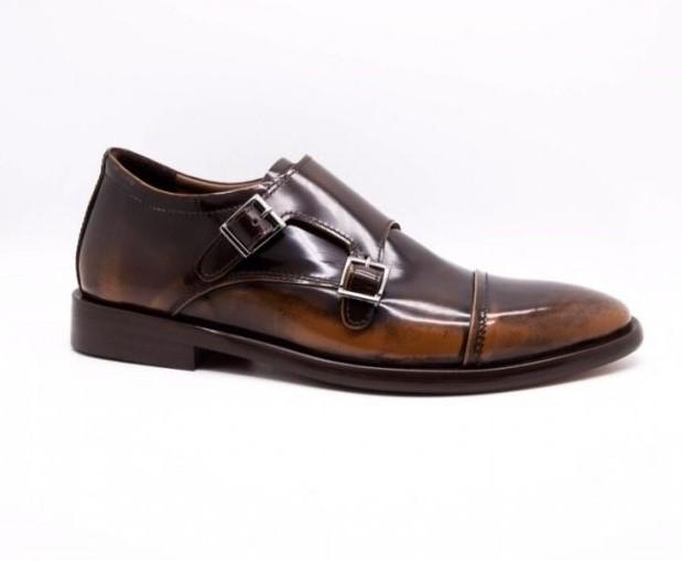 Sepatu Formal Pria Monk Strap